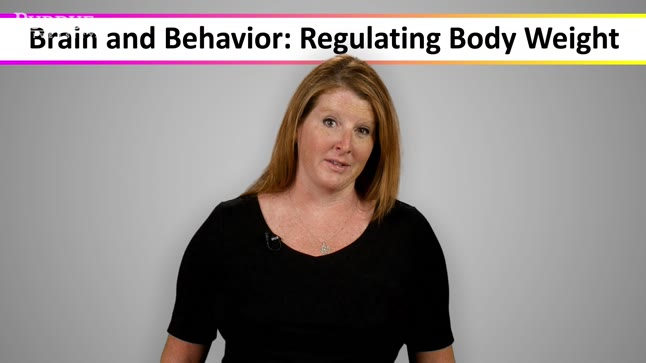 Welcome to the course Brain and Behavior: Regulating Body Weight