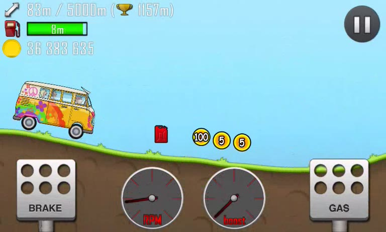 Android - Hill Climb Racing - Hippie Van - Countryside [Distance] - 1,664 - Andrew Mee