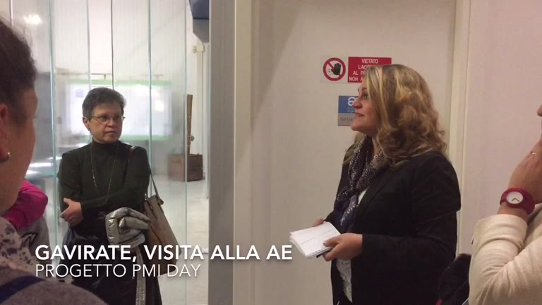 Video: Pmi day: la visita alla Ae di Gavirate