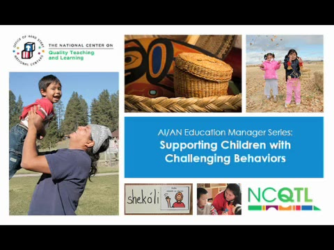 Supporting Children with Challenging Behavior