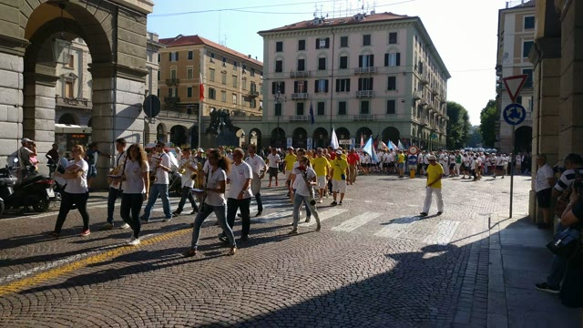 Tiro con l'arco, Coppa delle Regioni: la sfilata in centro Savona