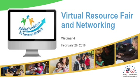 Building Foundations Virtual Resource Fair and Networking