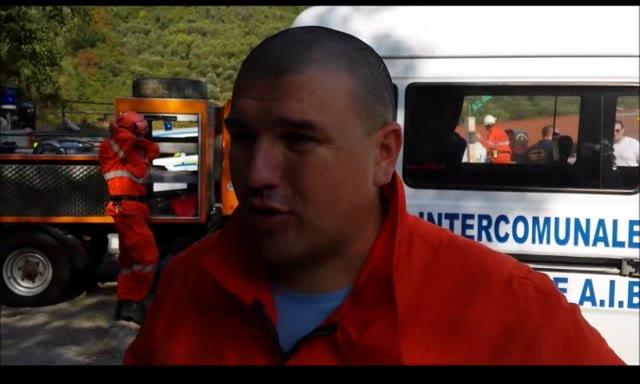 Esercitazione antincendio su Monte Acuto a Toirano