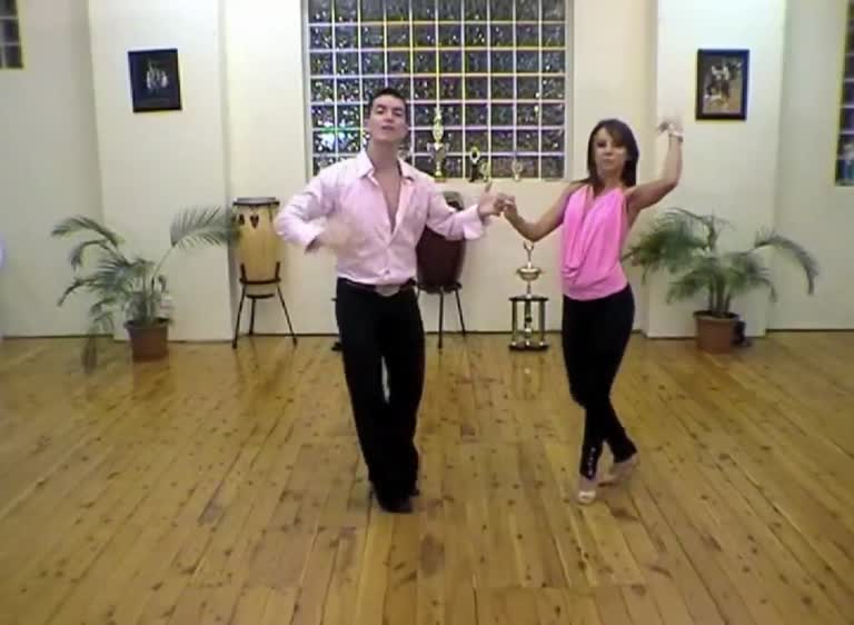 S40 Salsa pattern from the vault with Oliver & Luda
