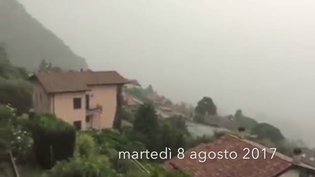 Video: Grandine e vento, i video dei lettori