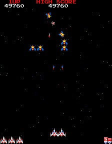 M.A.M.E. - Galaga [Fast Shot Speed] [Points [Tournament]] - Points - 844,340 - Terence Wong