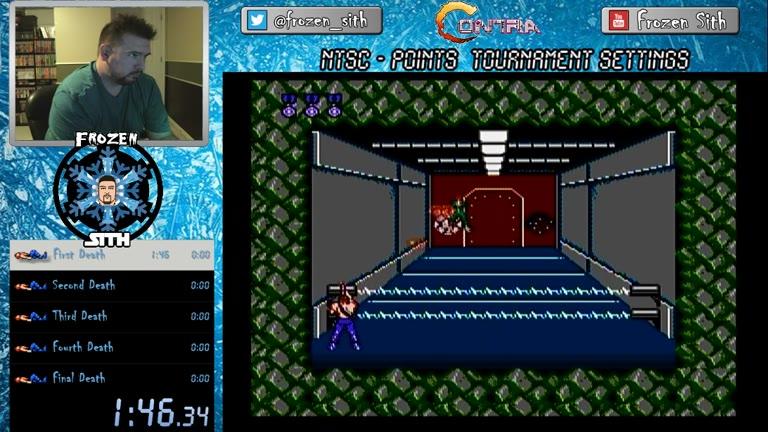NES / FAMICOM / DISK - Contra - NTSC - Points [Tournament Settings] - 6,553,500 - Derek Ruble