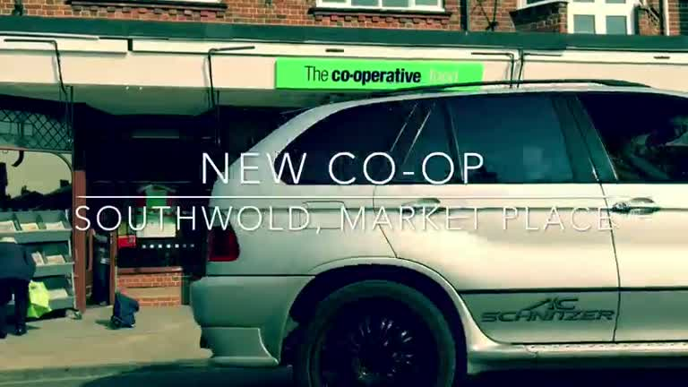 Co-op New Store in Southwold
