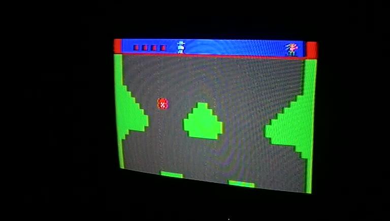Atari 2600 / VCS - Dukes of Hazzard Version 1 - NTSC - Game 1, Difficulty B - 4,690 - Greg Degeneffe