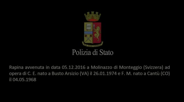 Video: Tre stati collaborano, arrestati due rapinatori seriale