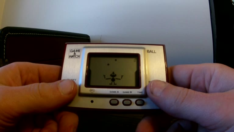 Game&Watch (LCD Gaming) - Ball - Points. Game A - 279 - Patrick Jr.