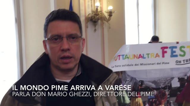 """Video: Il mondo del Pime arriva a Varese con """"Tuttaunaltrafesta"""""""