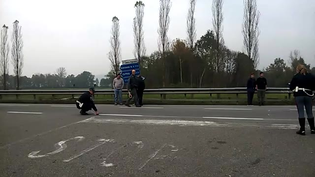 Video: Incidente tra una moto ed un furgoncino sulla Sp36