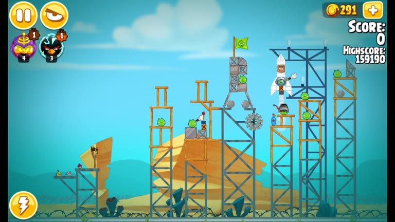 Android - Angry Birds Seasons - Pig Days - 6-9: First Spaceflight - 166,500 - Rodrigo Lopes