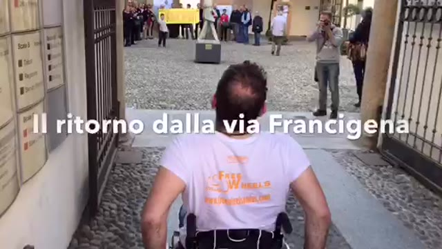 Video: Pietro è tornato dalla via Francigena