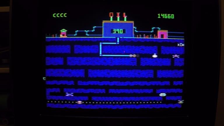 Atari 400 / 800 / XL / XE - Oils Well - Regular - 73,300 - Craig Anstett