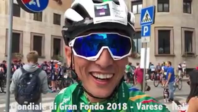 Video: Alla Granfondo c'era il mondo