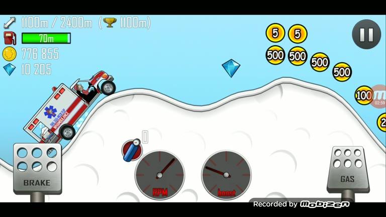 Android - Hill Climb Racing - Ambulance - Arctic [Distance] - 1,660 - Charles Adams