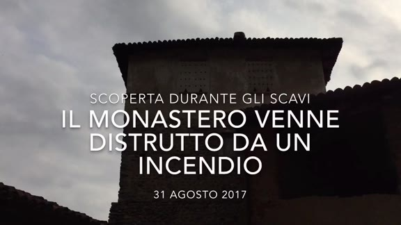 Video: Il monastero di Torba venne distrutto da un incendio