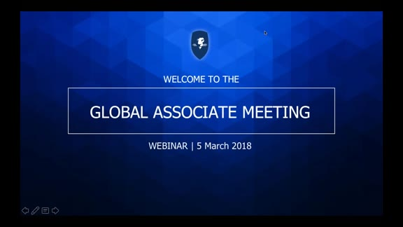 Global Associate Meeting 5 March 2018