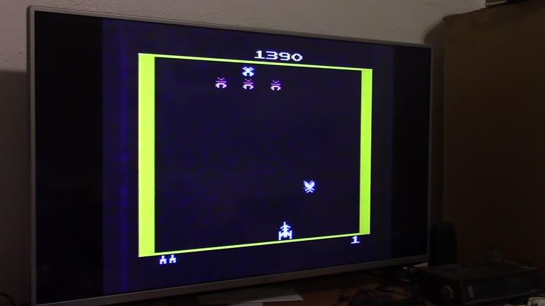 Atari 2600 / VCS - Galaxian - NTSC - Game 1, Difficulty B - 81,930 - John McAllister