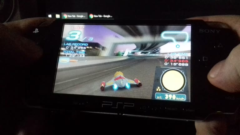 PlayStation Portable - Ridge Racer 2 - Time Attack - Shuttleloop Highway - Fastest Lap - NTSC/PAL - 34.656 - Jason Newman