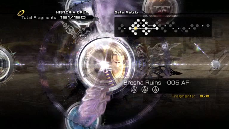 PlayStation 3 - Final Fantasy XIII-2 - Battle Result - Academia 500 AF - Yeoman x5 - Easy Mode [Score] - 16,300 - Andrew Mee