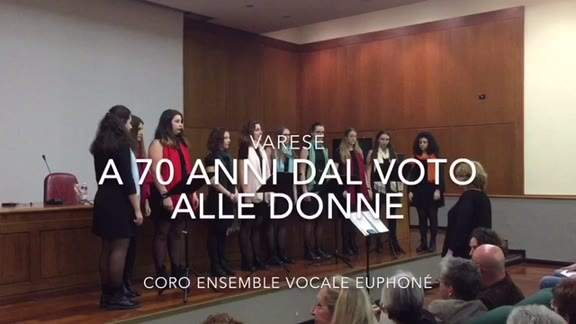 Video: Un coro per le madri costituenti