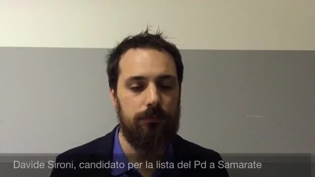 "Video: Davide Sironi: ""Samarate sarà un comune virtuoso"""