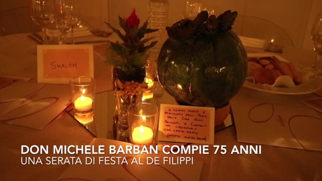 Video: Buon compleanno don Michele