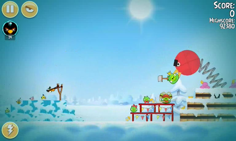 Android - Angry Birds Seasons - Pig Days - 2-10: Birdday - 97,810 - Andrew Mee