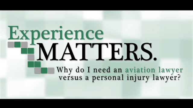 Why an Aviation Lawyer?