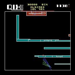 M.A.M.E. - Qix [set 1] - Points - 201,706 - Terence Wong