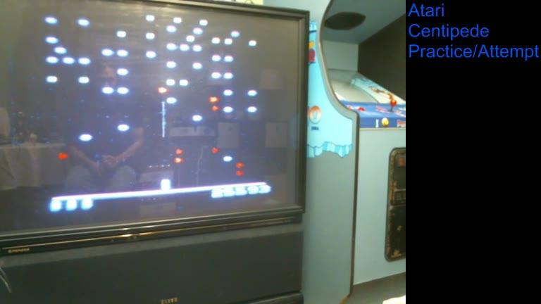 Atari 2600 / VCS - Centipede - NTSC - Game 1, Difficulty B - 1,301,709 - william rosa