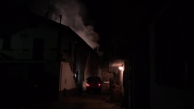 Video: Incendio a Olginasio di Besozzo