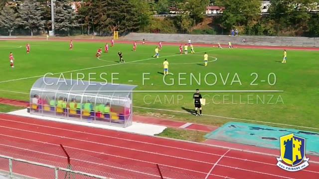 Eccellenza, Cairese vs Genova Calcio: gli highlights