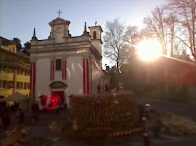 Video: Il falò di Sant'Antonio in un minuto