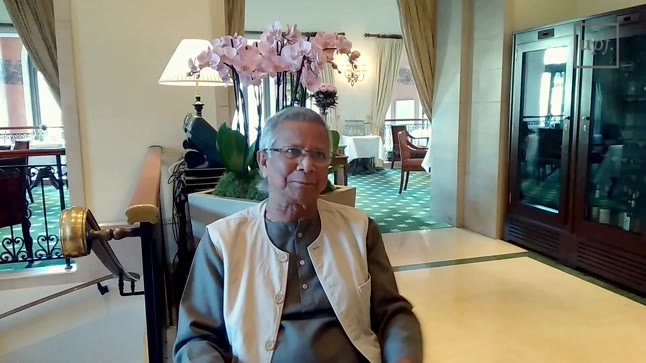 Interview with Professor Muhammad Yunus