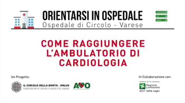 Video: #OrientarsiInOspedale
