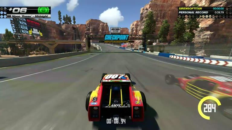 PlayStation 4 - Trackmania Turbo - White Series 06 - Fastest Time - 28.76 - Shaun Michaud
