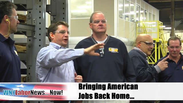 Western New York Labor News� NOW! - (January 2012 Edition) - Segment I