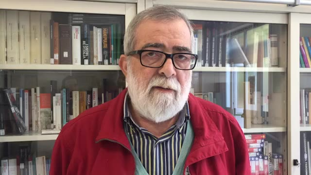 "Samuele Rago (Anpi) presenta il programma de ""L'Antifascismo in Marcia"""