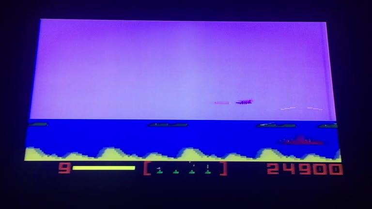 Intellivision - Nova Blast - NTSC/PAL - Default Settings - 56,400 - AL Birman