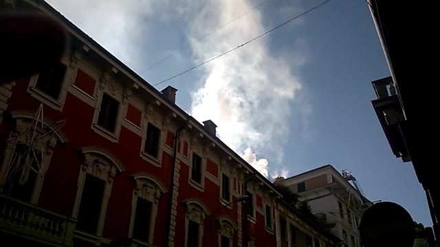 Video: Incendio in centro a Varese
