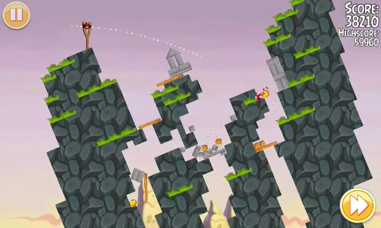 Android - Angry Birds Seasons - South Hamerica - 1-11 - 65,340 - Andrew Mee