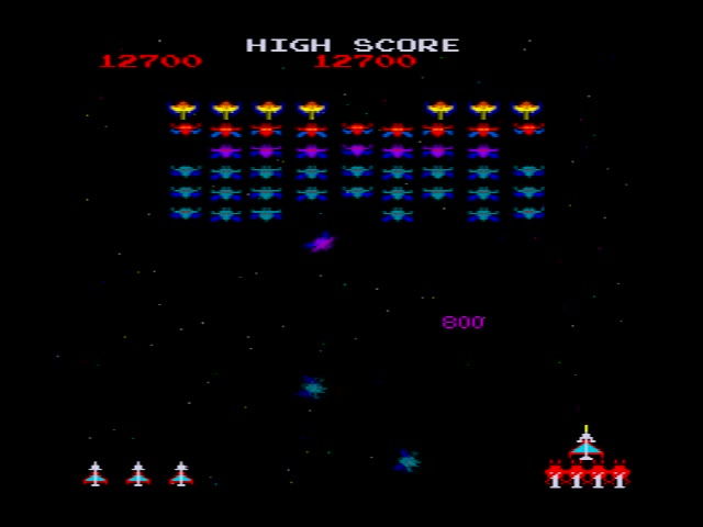 M.A.M.E. - Galaxian Part 4 - Points - 214,930 - Andrew Theodorou