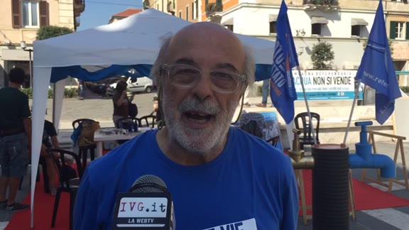 Video: Presidio e sciopero della fame per l'acqua pubblica