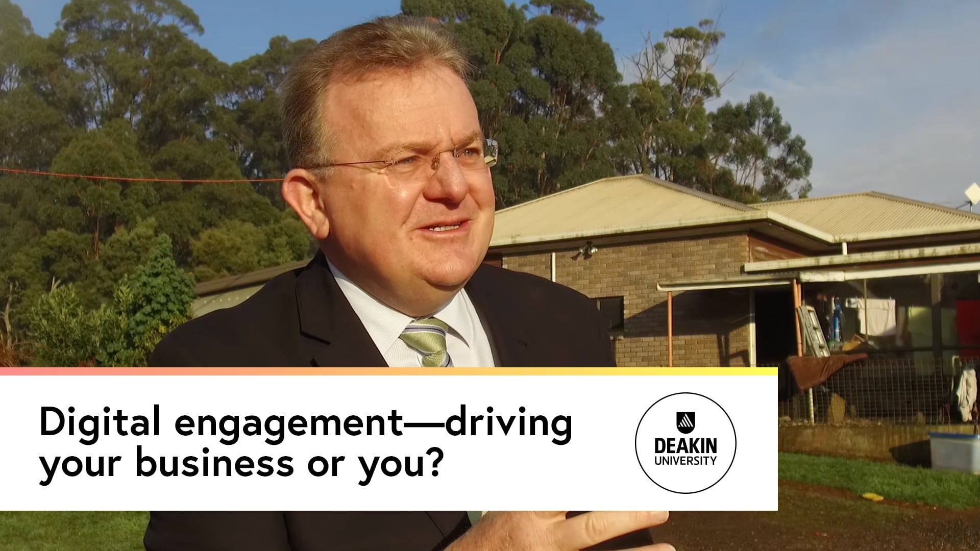 Digital engagement—driving your business or you?