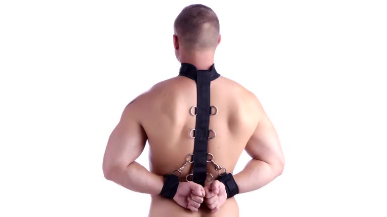 Neoprene Collar to Wrist Restraint Strap – AD536