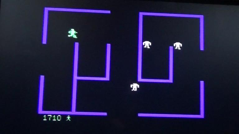 Sega Genesis / Sega Mega Drive - Berzerk Version 1.0 - NTSC - Level 1 - Points - 4,790 - Terence O'Neill